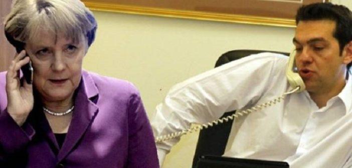 Τηλεφώνημα Μέρκελ σε Τσίπρα και Ζάεφ για επιτάχυνση των διαπραγματεύσεων