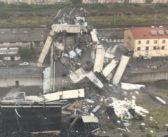 Συγκλονιστικές εικόνες και βίντεο από την κατάρρευση της γέφυρας στη Γένοβα