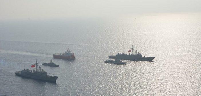 Κλιμάκωση έντασης από την 'Αγκυρα – Το Barbaros μέσα στην κυπριακή ΑΟΖ συνοδεία 4 πολεμικών