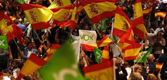 'Ενα βήμα από την ισπανική βουλή το ακροδεξιό Vox