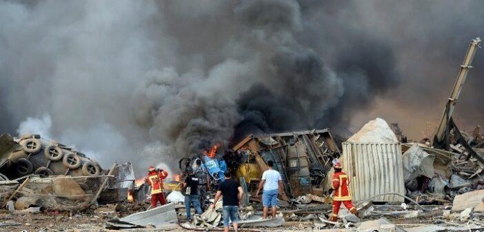 Εκρήξεις στη Βηρυτό: Τουλάχιστον 78 νεκροί και 4.000 τραυματίες – Ανατινάχθηκαν 2.750 τόνοι νιτρικού αμμωνίου