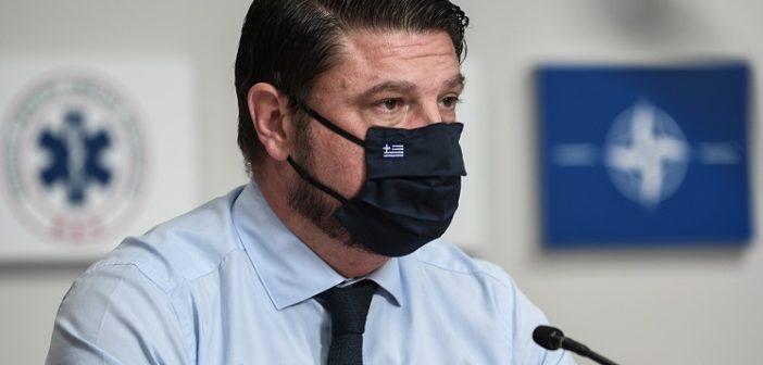 Νέα μέτρα για την αντιμετώπιση της πανδημίας ανακοίνωσε ο Νίκος Χαρδαλιάς