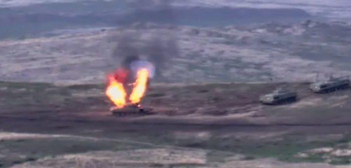 Ο Καύκασος στις φλόγες: Φόβοι για ολοκληρωτικό πόλεμο με εμπλοκή Τουρκίας-Ρωσίας στο Ναγκόρνο- Καραμπάχ