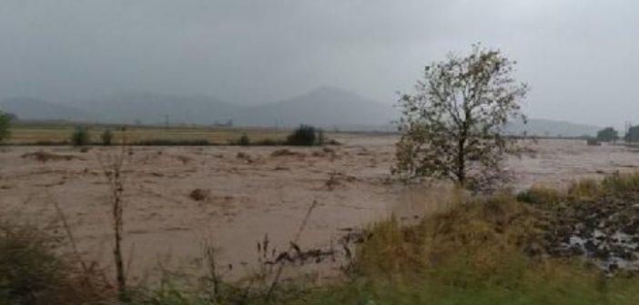 «Ιανός»: Πάνω από 210.000 στρέμματα πλημμύρισαν στον θεσσαλικό κάμπο
