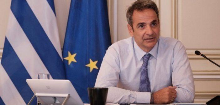 Κυρ. Μητσοτάκης: Θετικό βήμα επαναπροσέγγισης η συμφωνία για την επανέναρξη των διερευνητικών επαφών Ελλάδας-Τουρκίας