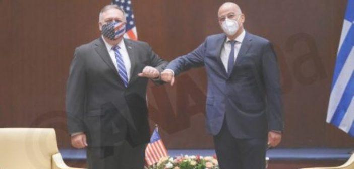 Κοινή δήλωση Ελλάδας – ΗΠΑ: «Τα ζητήματα θαλασσίων ζωνών να λύνονται με βάση το διεθνές δίκαιο»