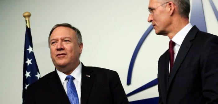 Επικοινωνία Πομπέο-Στόλντενμπεργκ: Χαιρετίζει την επανέναρξη διερευνητικών επαφών με την Τουρκία ο Αμερικανός ΥΠΕΞ