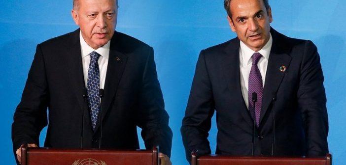 Πυρετώδεις προετοιμασίες για επικοινωνία Μητσοτάκη-Ερντογάν και έναρξη διαλόγου- Ο Πομπέο στην Αθήνα