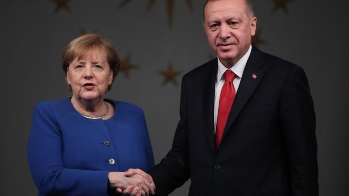 Μέρκελ, το σημαντικότερο στήριγμα του Ερντογάν