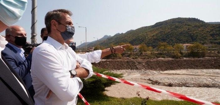 Κυρ. Μητσοτάκης: Θα κινηθούν γρήγορα οι διαδικασίες αποζημίωσης