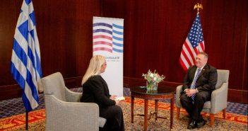 Μάικ Πομπέο: Έρχονται και άλλες αμερικανικές επενδύσεις στη Βόρεια Ελλάδα (vid)
