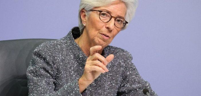 Λαγκάρντ: Οι προοπτικές για το μέλλον παραμένουν αβέβαιες – Η ΕΚΤ έτοιμη για περισσότερη νομισματική στήριξη