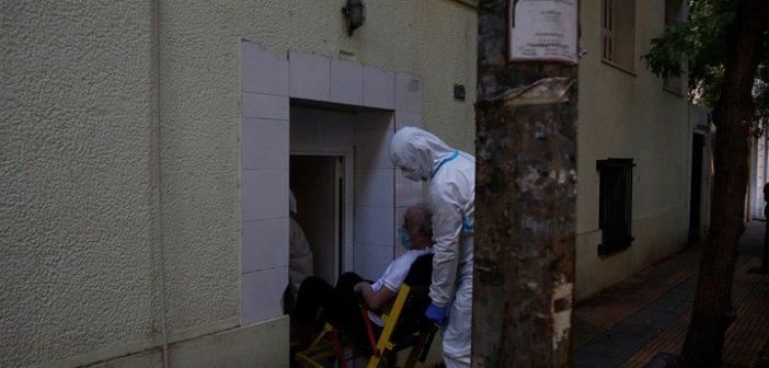 Γηροκομείο Αγίου Παντελεήμονα: Πάνω από 40 τα κρούσματα – Σε νοσοκομεία αναφοράς οι ηλικιωμένοι