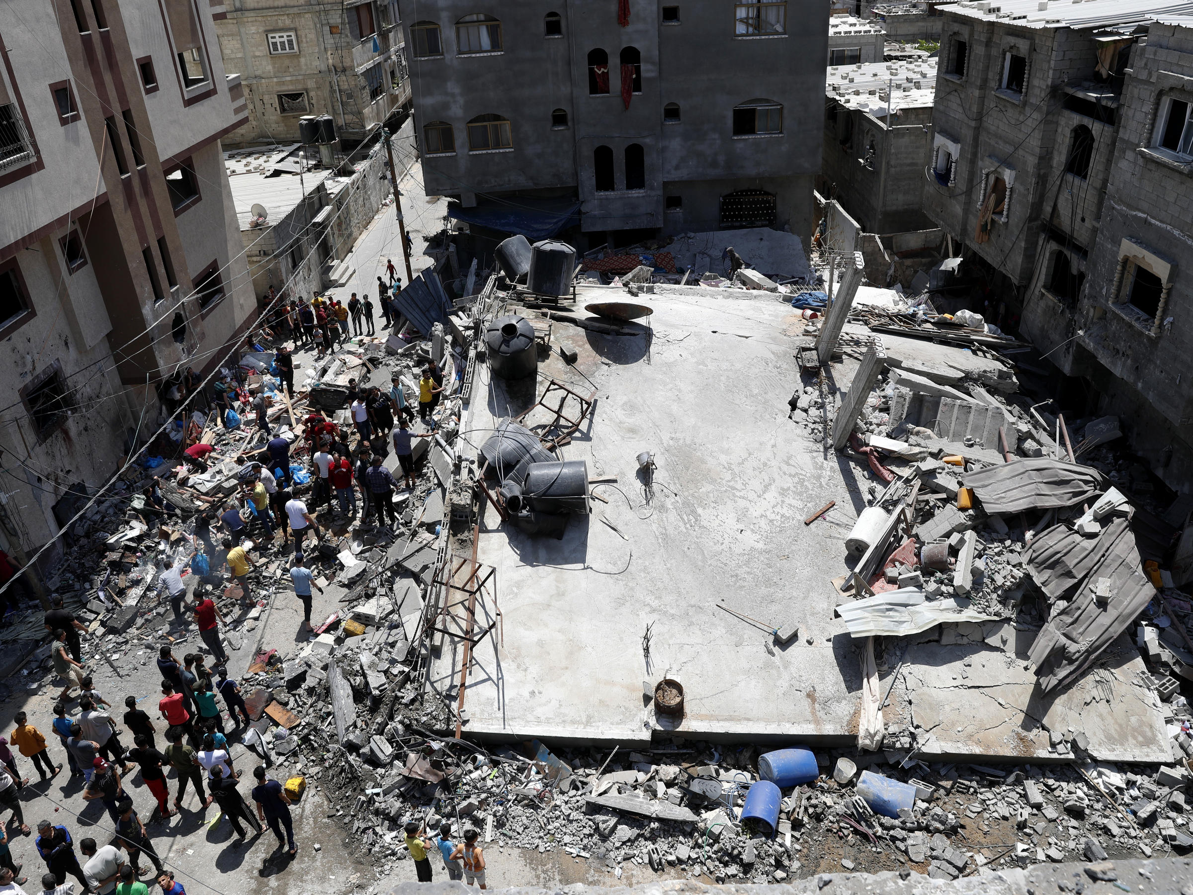 Israel And Hamas Agree To A Cease-fire In The Gaza Conflict   WPRL