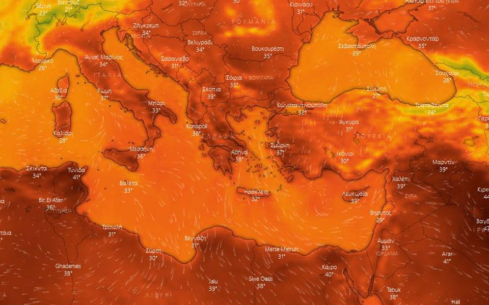 Έρχεται δεκαήμερος καύσωνας – Ο υδράργυρος θα αγγίξει και τους 44 βαθμούς Κελσίου