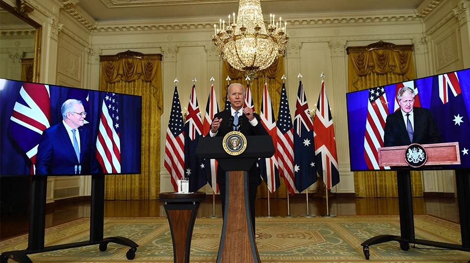 Σύμπραξη ΗΠΑ, Βρετανίας και Αυστραλίας ενάντια στην Κίνα