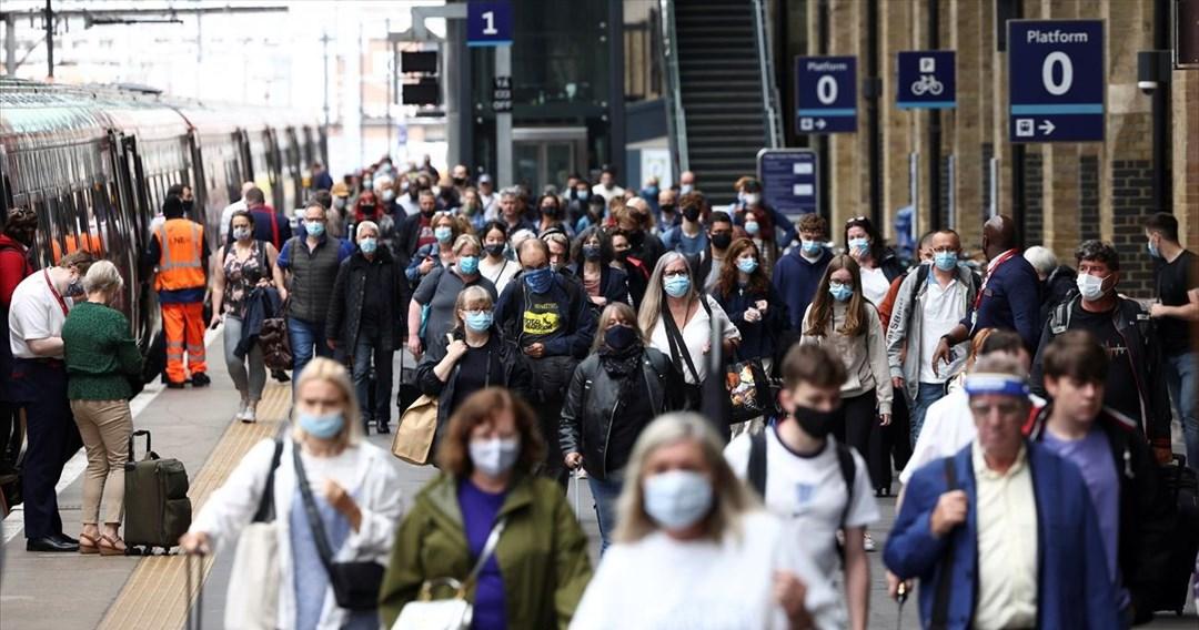 Βρετανία: Η αύξηση των κρουσμάτων φέρνει έκκληση για έρευνα της «Δέλτα plus»