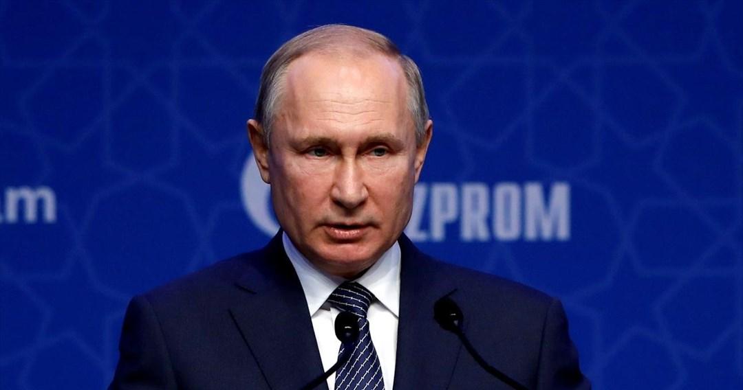 Ρωσία: Παροχή φυσικού αερίου στην Ευρώπη μόλις εξασφαλίσει τα δικά της αποθέματα