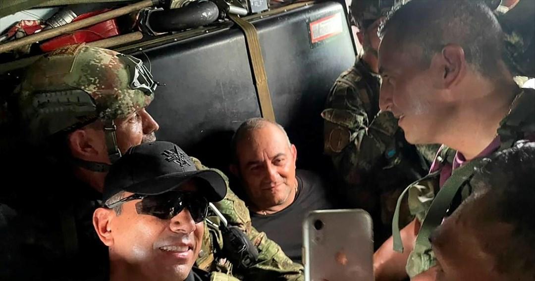 Συνελήφθη ο πιο καταζητούμενος βαρόνος ναρκωτικών της Κολομβίας