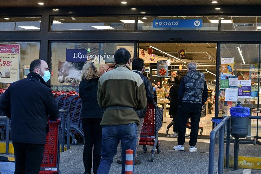 Nέα μέτρα – Αλλαγές σε αποστάσεις και σούπερ μάρκετ